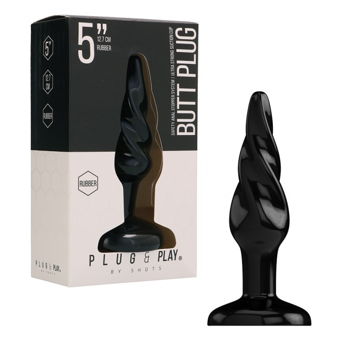 TOYJOY PENIS SLEEVE POWER STRETCHY BLACK